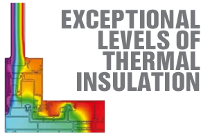 Thermal insulating properties