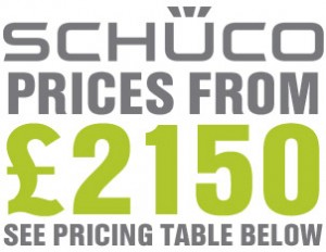 Schuco bi-folding door prices