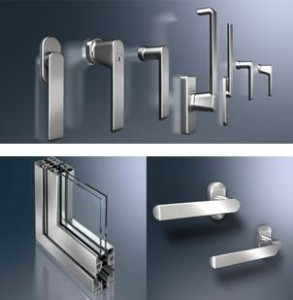 Handle options for bi-folding doors