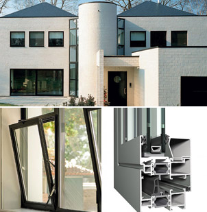 Reynaers aluminium windows