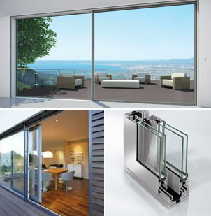 Schuco sliding doors ass 70 lift slide lite haus uk for Non sliding patio doors