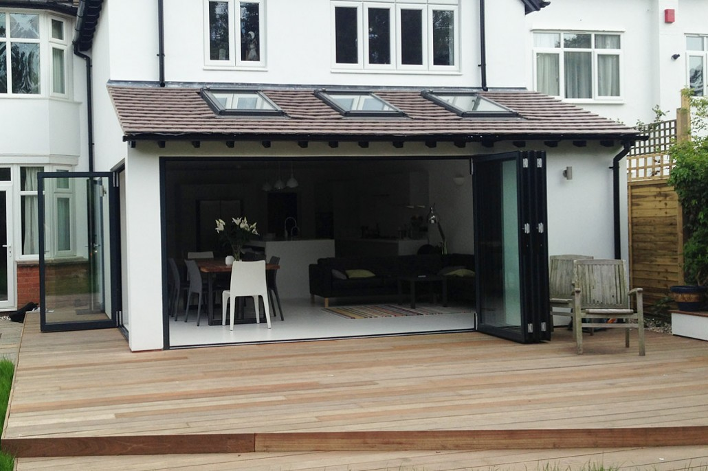 Home Extension with Bi-fold doors