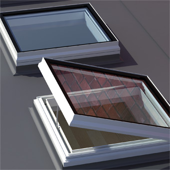 open square rooflight