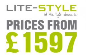 Bifold door prices starting from £1597