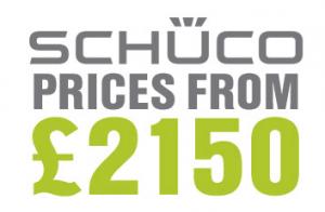 Average price of Schuco aluminium doors