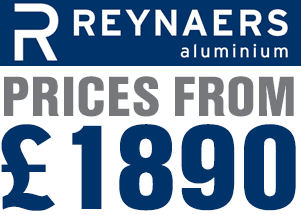 Reynaers bi-fold door prices from £1890