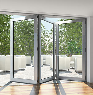 Schüco ASS 70 Folding Door System