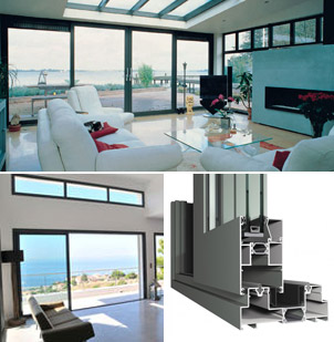 Reynaers lift and slide doors and parts