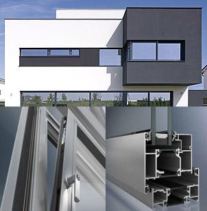 Schuco aluminium windows