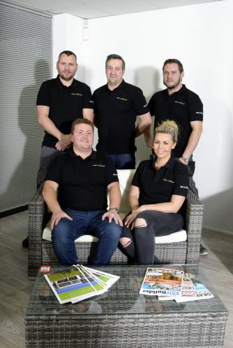 Lite Haus UK team with MD Oliver Aldersley