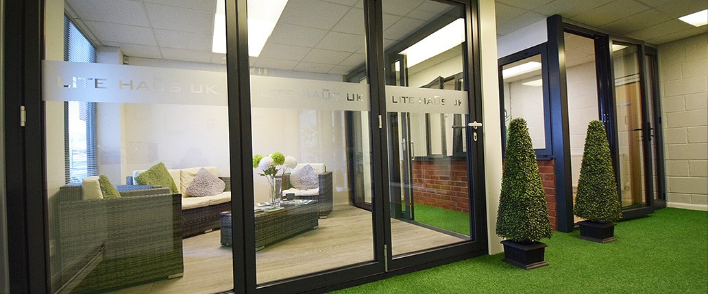Lite Haus UK showroom
