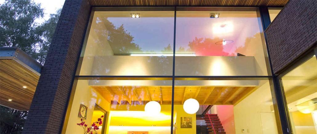 Large Schuco aluminium windows