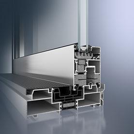 Schüco ASS 70 Aluminium Frames