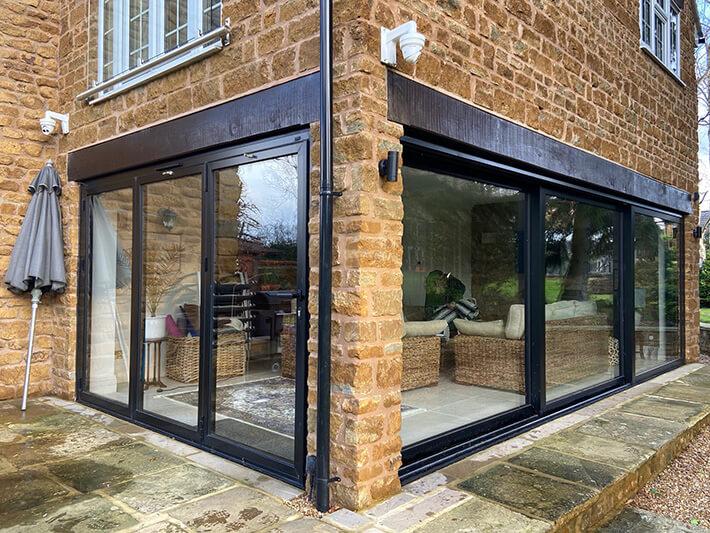 aluminium sliding patio doors