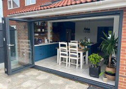 bifolding patio door