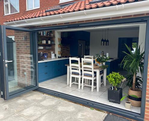 bifolding patio door